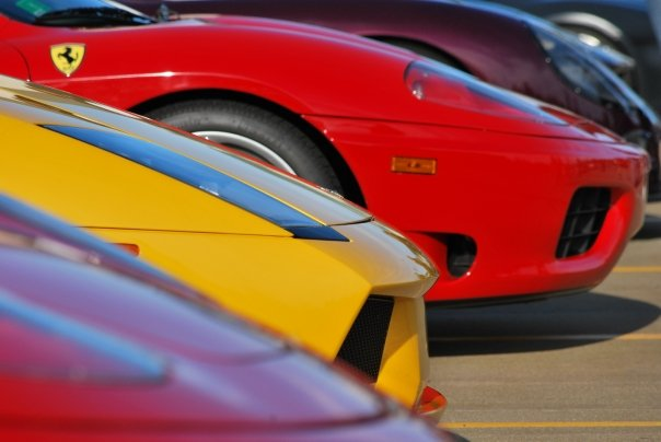 Super Car Line Up