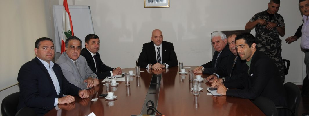 Visit to Minister Hakim, 27-5-2014